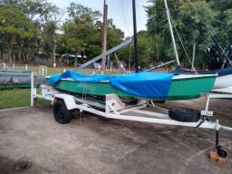 Barco monotipo Snipes.