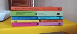 Vendo livros de matemática novos 70,00 cada