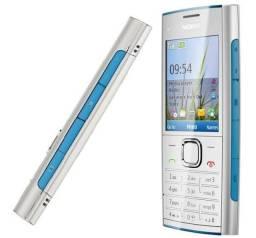 """Nokia X2-00 ( N O V O ) Desbloqueado e Original  """" Radio  & Laterna """" Excelente idoso"""