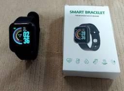 Relógio Inteligente Smartwatch Y68/D20 Bluetooth/ Novo e Lacrado.