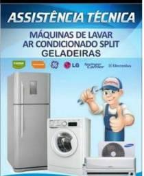 Assistência em geladeiras, máquinas de lavar