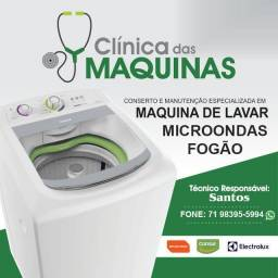 Conserto de maquina de lavar. Serviço bom e barato