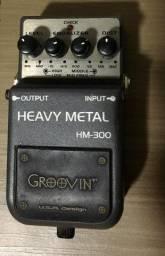 Pedal de distorção Groovin' HM-300