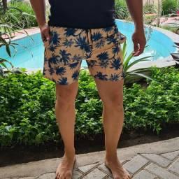 Short Tactel Mauricinho tecido grosso com lycra