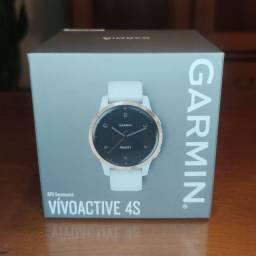 Título do anúncio: Relógio Garmin Vivoactive 4S Rose Gold Branco Novo Lacrado