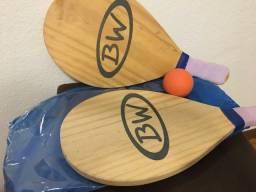 Conjunto raquete para ping pong-BW