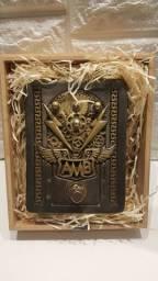 Pedal AMB Alef Bronze Aceito Troca