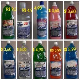 Produtos de limpeza á preço de custo.