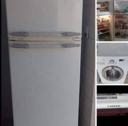 Funcionando!!! Geladeira + máquina frontal+ Depurador R$2050