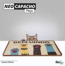 Tapete PVC Capacho Patinhas 40x60cm