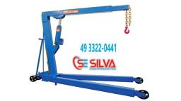 Título do anúncio: Guincho hidráulico 2000KG rodas ferro c/ prolongador Bovenau