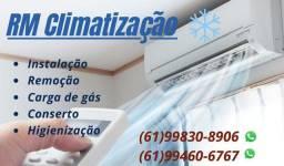 Instalação de ar condicionado a partir de R$290,00*