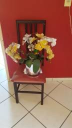 Arranjo usado de orquideas