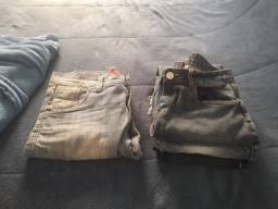 Calça jeans   Ler a descrição