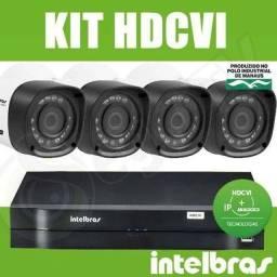 Câmera de segurança kit