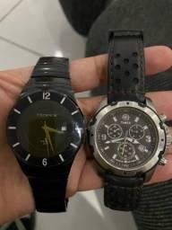 Relogio Technos e Timex