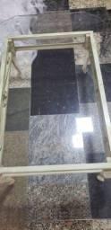 Mesa central de Vidro