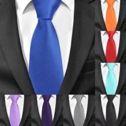 Título do anúncio: Gravatas Slim Fit para Eventos Trabalho Festas