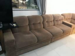 2 sofa de 2 lugar e 1 canto