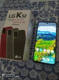 LG k52 64 GB. Novo apenas 1 mês de uso. V/T