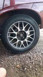 Troco rodas 14 muiti furo por aro 13 de ferro