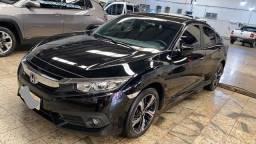 Honda Civic 2019/19 EXL Flexone 2.0  CVT - Automático - Preto