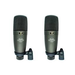 02x Microfone Superlux Ho-8 (Par - Cardióide Condensador)