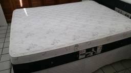 Colchão Molas Pocket Castor, Pillow Top Viscoelástico, Queen 32 cm altura