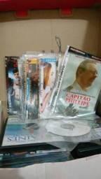 Varios cd's filmes e musicas