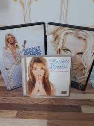 Dois DVDs e um CD originais - Britney Spears