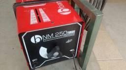 Máquina de solda bambozzi 250 amp