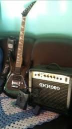 Guitarra /cubo/pedaleira