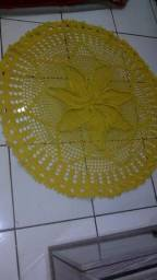 Vendo tapete de crochê pronta entrega lindos