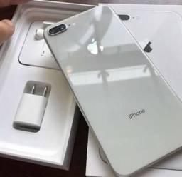 IPhone 8 Plus prata/branco 64GB Garantia até dezembro de 2018