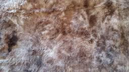 Excelente tapete para sala, novo, material de primeira linha, bege com marrom, 1,90X1,90
