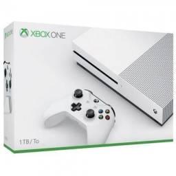 Xbox One S Branco 4k HDR 1TB Pronta Entrega