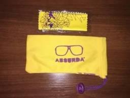 Conjunto de Saquinho + Flanela Para Óculos Absurda - Original