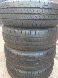 "Kit de 4 pneus ""185/65r14"" usado!"