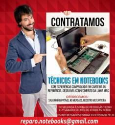 Técnico em Eletrônica com Especialização em Notebooks e All in one