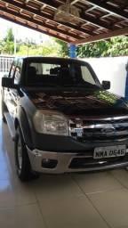 Ford Ranger XLT - 2010 gasolina aceito troca - 2010