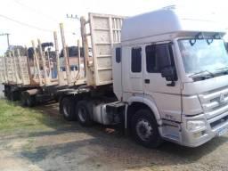 Vendo: Caminhão e bitrem (trabalhando) - 2011