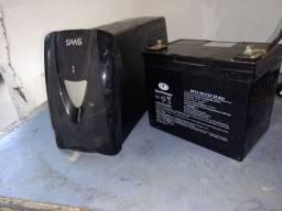 Nobreak SMS 1400va com baterias externa