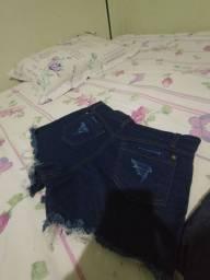 Shortinhos Jeans 15$