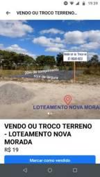 Terreno loteamento Nova Morada 10x20