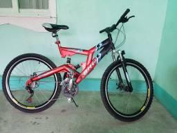 Bike Ciclo Sport Star - Reforçada - 3 Amortecedores