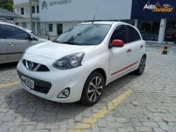 Nissan March 1.6 SL 16V 15-16 Branco