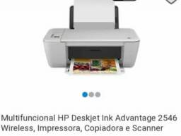 Impressora  Multifuncional HP Deskjet  Advantage conexão Wifi.