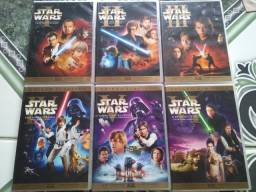 Coleção Stars Wars Trilogia I, II, III e IV, V, Vi (2 Box)