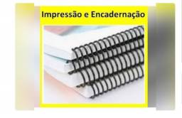 Impressão e Encadernação de Apostilas