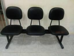 Cadeira longarina sime nova